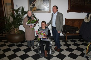 Fosca Bosch, Tessa Scholten en Wethouder Bögemann
