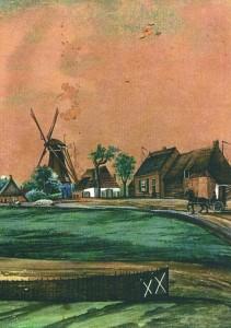 Zicht op Veessen 1856