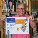 Rabobank clubkas cheque – Jan de Wal bewerkt LR